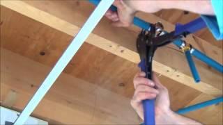 getlinkyoutube.com-How to Install Pex Pipe Waterlines in Your Home.  Part 2. Plumbing Tips!