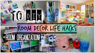 getlinkyoutube.com-10 DIY Room Organization and Storage Ideas! + Room Decor Life Hacks!