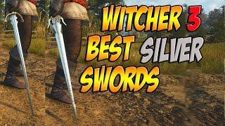 getlinkyoutube.com-BEST WITCHER 3 SILVER SWORDS! (Relic & Crafted)