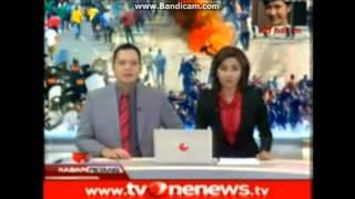 getlinkyoutube.com-Kejadian Lucu, Presenter TV ONE Cegukan Saat Membacakan Berita