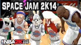 getlinkyoutube.com-Space Jam 2 (2017) - The Ultimate Game - NBA 2K17 2K16 2K15 Mod HD