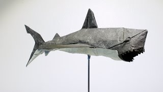 getlinkyoutube.com-Origami Great White Shark