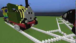 getlinkyoutube.com-Thomas and friends minecraft 4