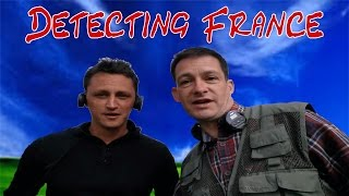 getlinkyoutube.com-Metal Detecting France: The Nazi Occupied Farm