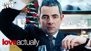 Love Actually | Gift Wrapping | Rowan Atkinson width=
