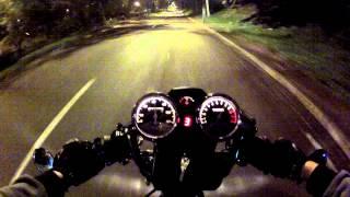 getlinkyoutube.com-Test Ride - Suzuki Intruder 125 : Café Racer.