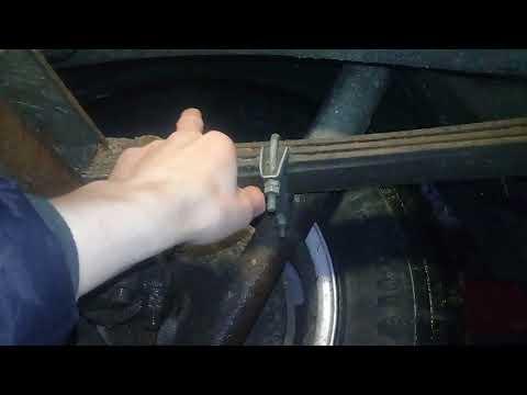 УАЗ Патриот сломалась рессора.