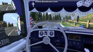 getlinkyoutube.com-Euro Truck Simulator 2 Scania R 730 skin and interior!