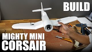 getlinkyoutube.com-FT Mighty Mini Corsair - BUILD | Flite Test
