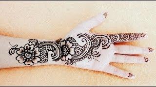 getlinkyoutube.com-Latest Arabic Bridal Henna- Mehendi for Marriage,diwali,karwachauth,Eid,holi-3