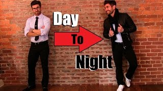 getlinkyoutube.com-Day-To-Night Outfit Tutorial | Style Skills EVERY Guy Needs To Know