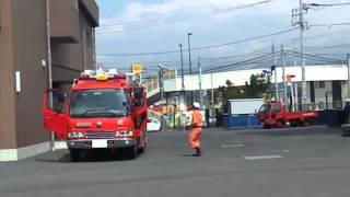 getlinkyoutube.com-2013_08_05三島市 消防職員の訓練風景⑧[訓練中に緊急出動!].wmv