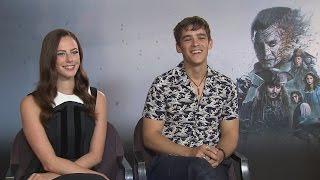 Kaya Scodelario and Brenton Thwaites talk Pirates of the Caribbean and getting starstruck