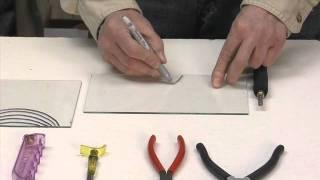 getlinkyoutube.com-Learn to cut glass into shapes.