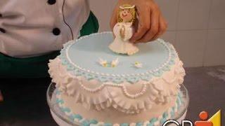 getlinkyoutube.com-Curso Avançado de Decoração de Bolos - Bolo Decorado para Batizado - Cursos CPT