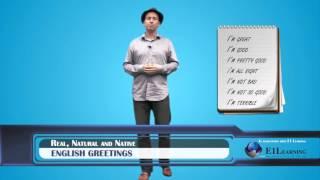 "getlinkyoutube.com-Learn English - Don't say ""I'm fine""! Let's learn native English greetings"