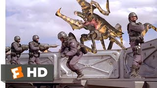 Starship Troopers (6/8) Movie CLIP - Ripped Apart (1997) HD