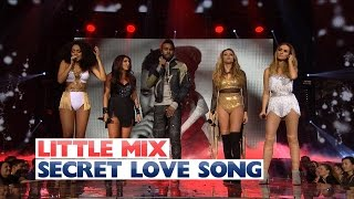 getlinkyoutube.com-Little Mix Ft. Jason Derulo - 'Secret Love Song' (Live at The Jingle Bell Ball 2015)