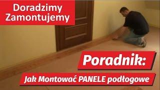 getlinkyoutube.com-Poradnik HD: Panele podłogowe instrukcja jak montować pokazuje fachowiec