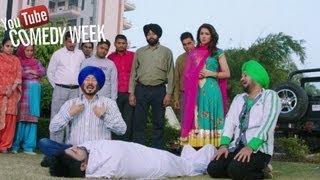 getlinkyoutube.com-Best Punjabi comedy of 2013 by Jaswinder Bhalla, Guggi - Jatts in Golmaal | Punjabi Movie 2013