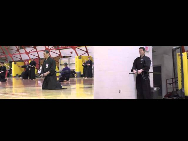 The Annual Spring Iaido and Jodo Seminar