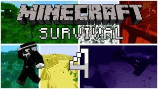 getlinkyoutube.com-Minecraft Survival: Episode 4 - Đào...đào...đào...