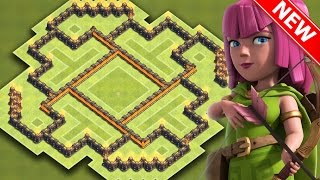 getlinkyoutube.com-Clash Of Clans | EPIC TH7 HYBRID BASE FOR NEW UPDATE | BEST Town Hall 7 Farming / Trophy Base