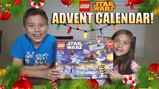 getlinkyoutube.com-2015 LEGO STAR WARS Advent Calendar! 7 Door Surprise Unboxing! Set 70597