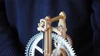 getlinkyoutube.com-Brian Law's Woodenclocks-Clock 12-Final Assembly