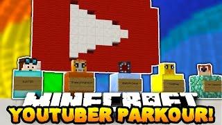 getlinkyoutube.com-Minecraft YOUTUBER SKY PARKOUR! (DanTDM, Markiplier, BajanCanadian & More!) w/PrestonPlayz & Lachlan