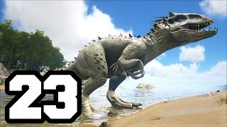 getlinkyoutube.com-INDOMINUS REX | ARK: Survival Evolved #23 | Temporada 4