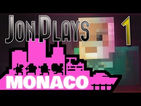 Monaco Gameplay Review Part 1 - Intro - Walkthrough Let's Play [PC, Xbox 360]
