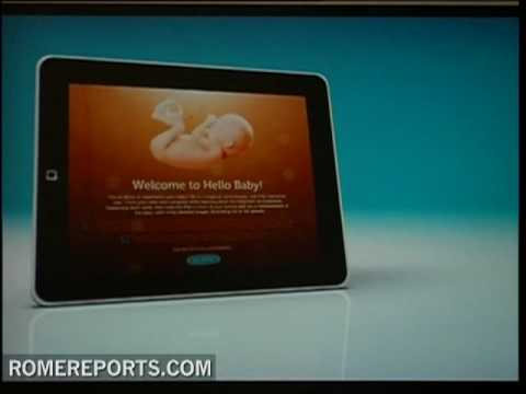 New iPad application to track baby developments during pregnancy