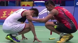 getlinkyoutube.com-Lin Dan v Lee C.W.|MS-F| Wang Lao Ji BWF World Champ. 2013