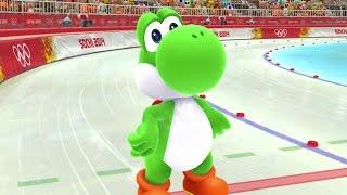 getlinkyoutube.com-Mario & Sonic at the Sochi 2014 Olympic Winter Games - Speed Medley