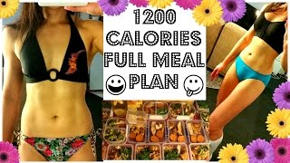 BIKINI COMPETITION MEAL PLAN | 1200 CALORIES | 144g Protein | 56g carbs | 54g Fat
