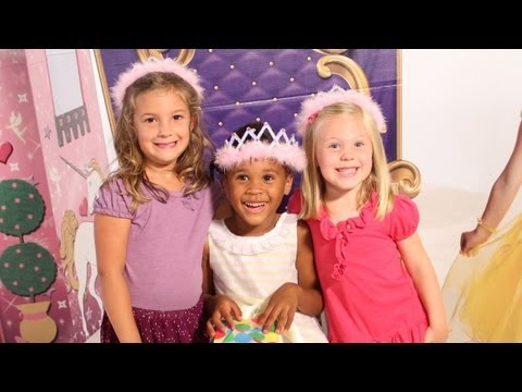 How to Decorate for a Pretty Princess Birthday Party - Shind