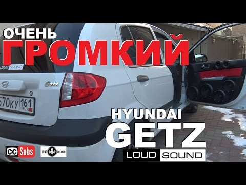 Hyundai Getz - Extremely Loud Caraudio System [eng sub]