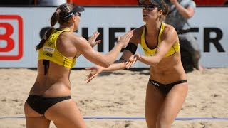 getlinkyoutube.com-Liliana/Baquerizo (ESP) vs. Turnerova/Tomasekova (SVK) - Den Haag - World Championships 2015