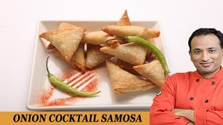 getlinkyoutube.com-Cocktail Onion Samosa Recipe with Philips Airfryer by VahChef