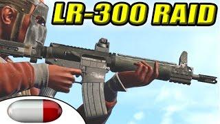 getlinkyoutube.com-NEW ASSAULT RIFLE! | LR-300 Update | Online Pickaxe Raid | Loot Despawners | Salty Loins (Rust)