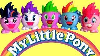 Brinquedos Radz Meu pequeno Pônei Dispensador de Doces - My Little Pony Radz Candy Dispenser Box