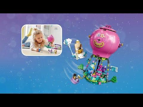 LEGO Trolls World Tour Poppy's Hot Air Balloon Adventure - 41252