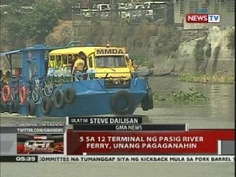 Pasig River Ferry Schedule Pasig River Ferry to Operate