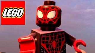 getlinkyoutube.com-LEGO MARVEL AVENGERS - HOMEM ARANHA Preto e Vermelho, Miles Morales