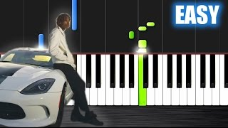 getlinkyoutube.com-Wiz Khalifa - See You Again - EASY Piano Tutorial by PlutaX - Synthesia