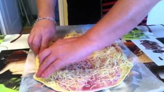 getlinkyoutube.com-Faire des amuse-bouche au jambon - Recette de cuisine - Amuse-bouche facile