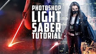 Make a Lightsaber in Photoshop
