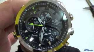 getlinkyoutube.com-Casio - Edifice EQB-500D-1AER Review
