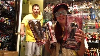 getlinkyoutube.com-Grims Toy Show ep 519: Heel Wife tries to give away GRIM'S WWE Wrestling Figures